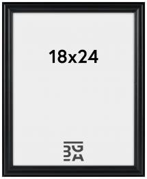 Line Svart 18x24 cm