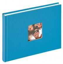 Fun Album Havsblå - 22x16 cm (40 Vita sidor / 20 blad)