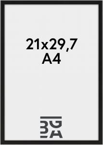 Nielsen Premium Classic Matt Svart 21x29,7 cm (A4)