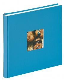 Fun Album Havsblå - 26x25 cm (40 Vita sidor / 20 blad)