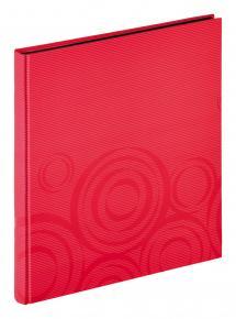 Orbit Röd - 30x33 cm (40 Svarta sidor / 20 blad)