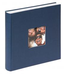 Fun Album Blå - 30x30 cm (100 Vita sidor / 50 blad)