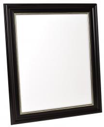 Spegel Mora Svart-Silver - Egna mått