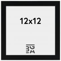 Fotoram Svart 2E 12x12 cm