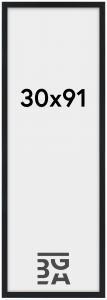 Stilren Plexiglas Svart 30x91 cm