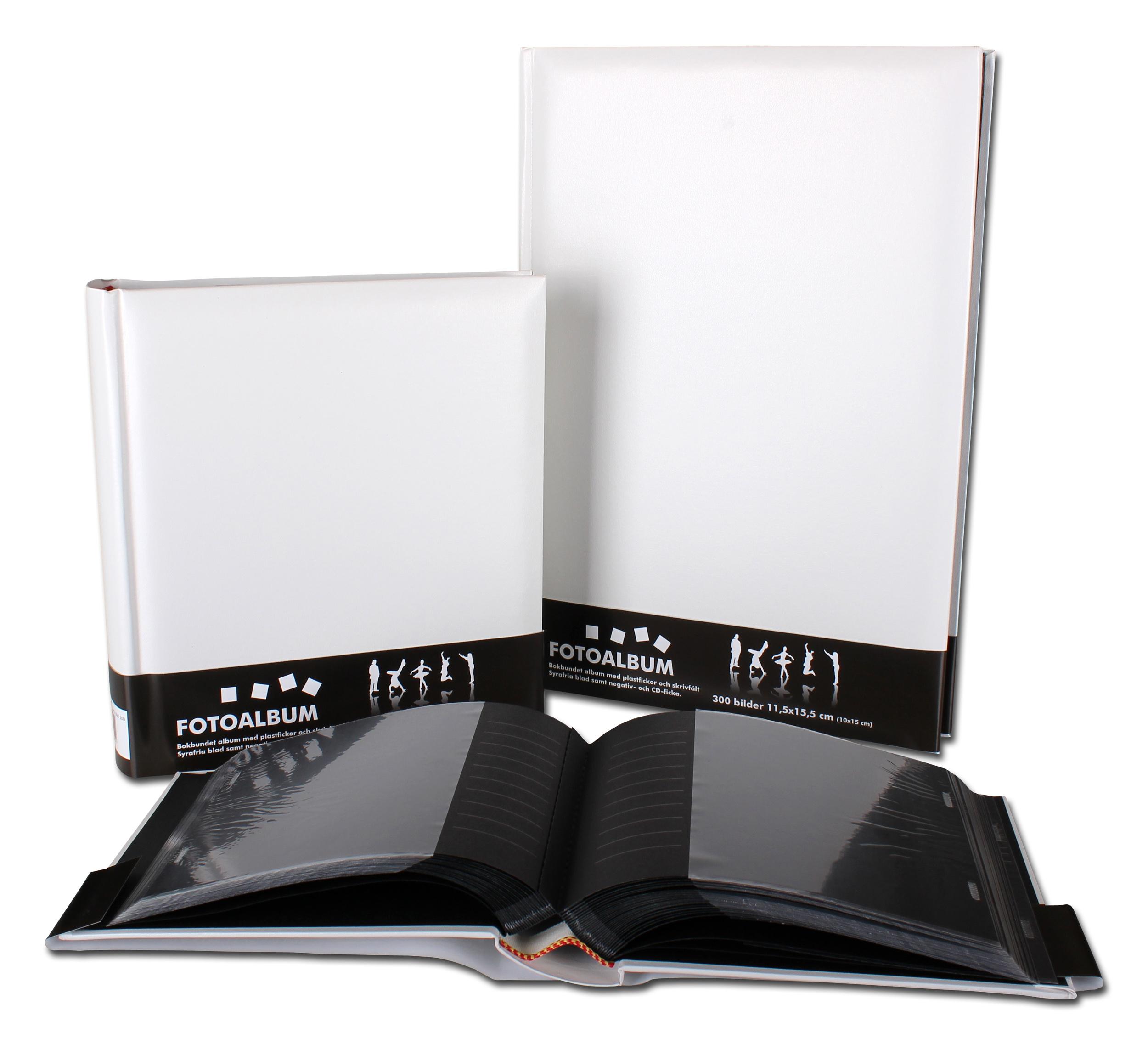 Estancia Bokbundet Album Vit - 100 Bilder i 11x15 cm - BGA Fotobutik 7ec9cd05ca12