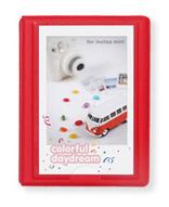Polaroid Minialbum Röd - 28 Bilder i 5x7,6 cm