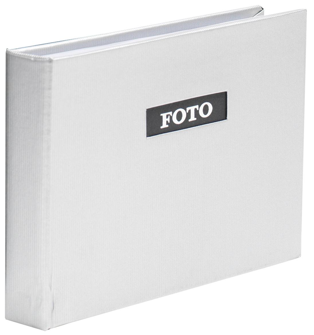 Trend line Album Pocket Silver - 40 Bilder i 10x15 cm - BGA Fotobutik ca885511c28f