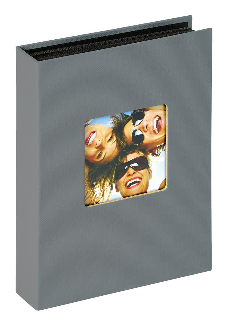 Fun Minimax Album Mörkgrå - 60 Bilder i 10x15 cm