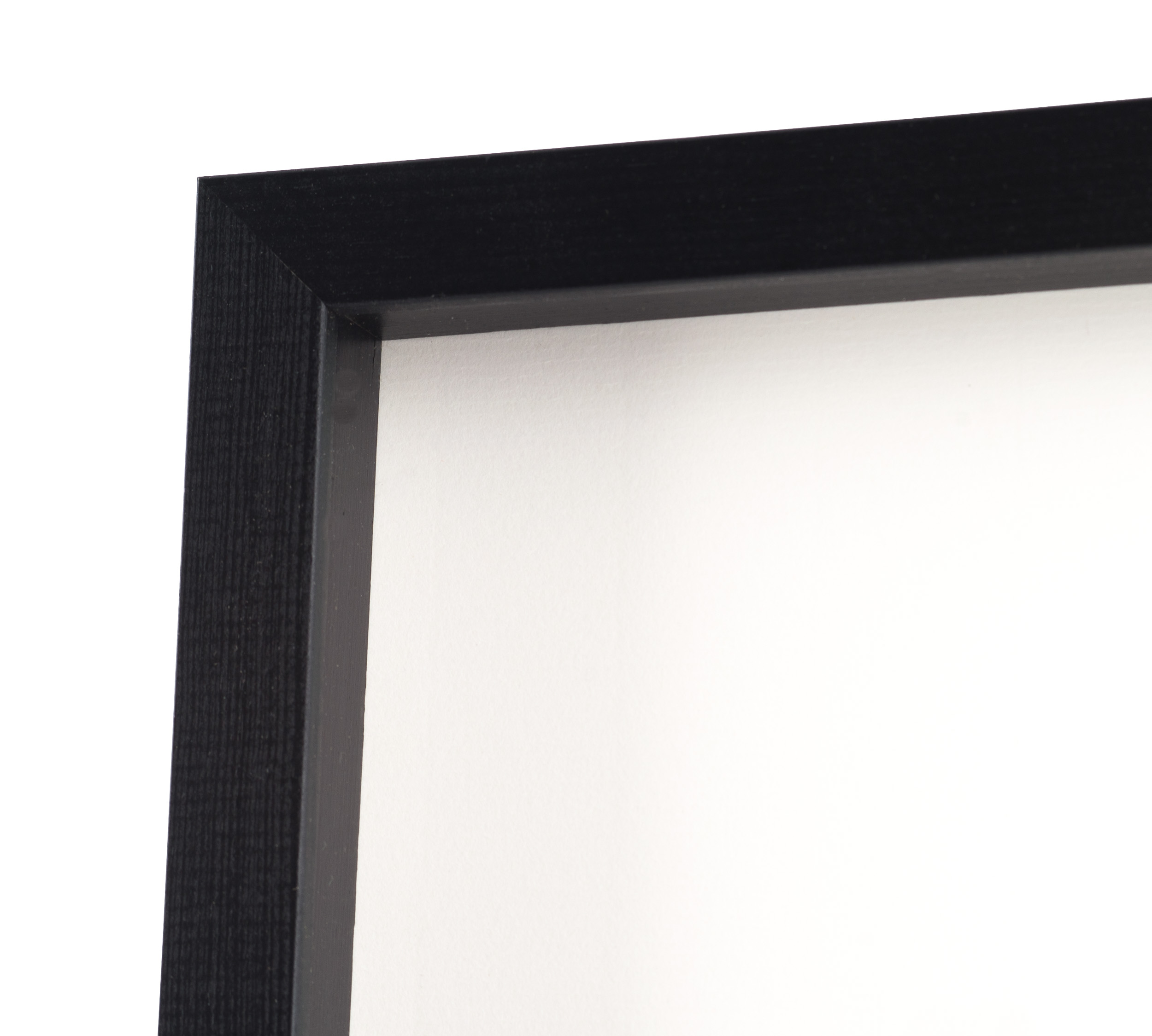 tavelram amanda box svart 70x100 cm fotoramar. Black Bedroom Furniture Sets. Home Design Ideas