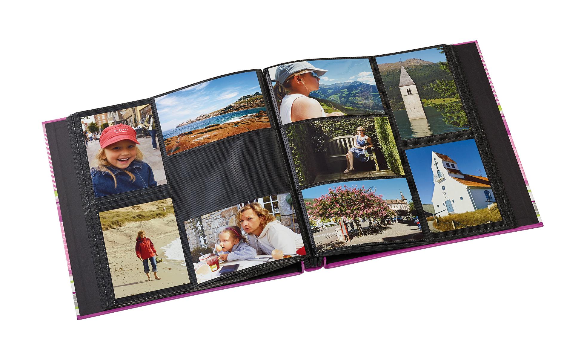 sundry album rosa 400 bilder i 10x15 cm bga fotobutik. Black Bedroom Furniture Sets. Home Design Ideas