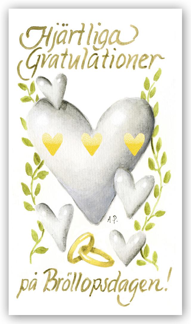 grattis på bröllopsdag Gratulationskort Hjärtliga gratulationer på bröllopsdagen  grattis på bröllopsdag