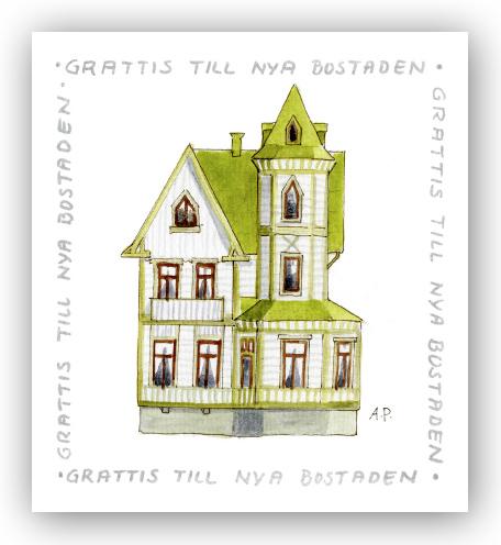 grattis till nya lägenheten Gratulationskort Grattis till nya bostaden   Motivnummer 162   BGA  grattis till nya lägenheten