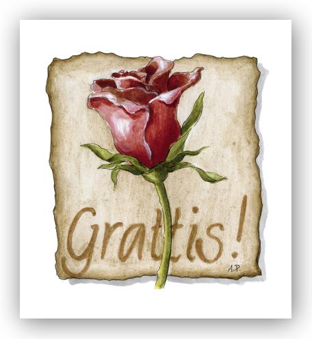 gratulationskort Gratulationskort Grattisros   Motivnummer 406   BGA Fotobutik gratulationskort